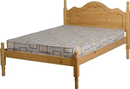 Seconique Sol 4 pies cama – Antique Pino