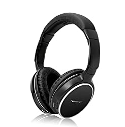 Nakamichi BTHP11 Series Bluetooth On-The Ear Headphones - Retail Packaging - Black