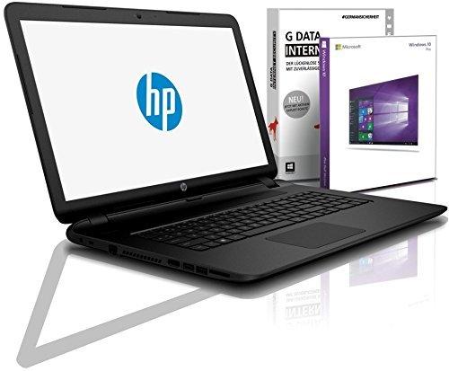 HP Notebook Full-HD 15,6 Zoll, Intel Quad Core 4x2.56 GHz, 8GB RAM, 750GB HDD, Intel HD, BT, USB 3.0, WLAN, Win10 Prof. 64 (shinobee-Edition) #5155