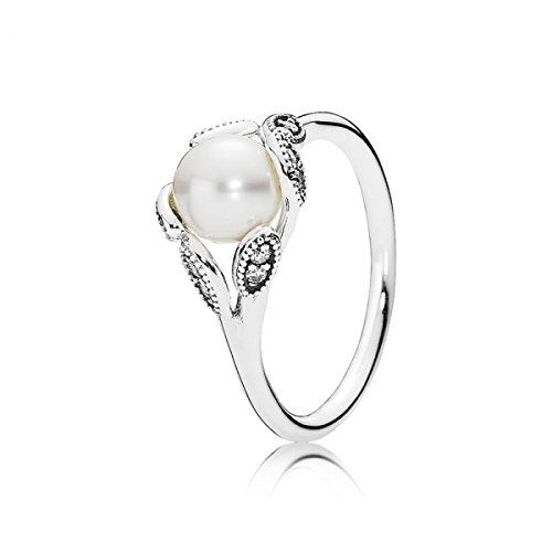 PANDORA Luminous Leaves Ring 190967P, Different Sizes Available (8.5 / 58)