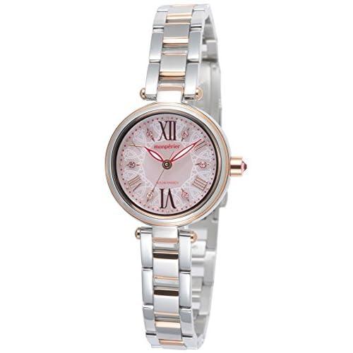 [リコー]RICOH 腕時計 モンペリエ・エミット ソーラー充電式 3気圧防水 250本限定モデル ピンク 699004-53 レディース