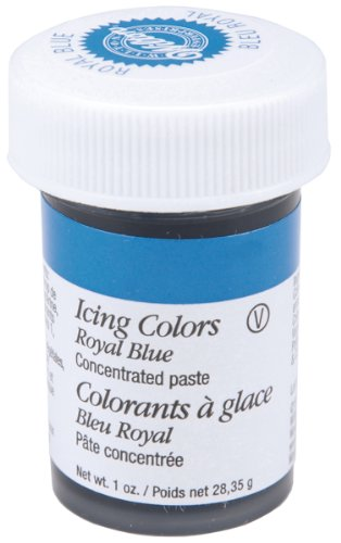 Wilton 610-655 Icing Gel, 1-Ounce, Royal Blue