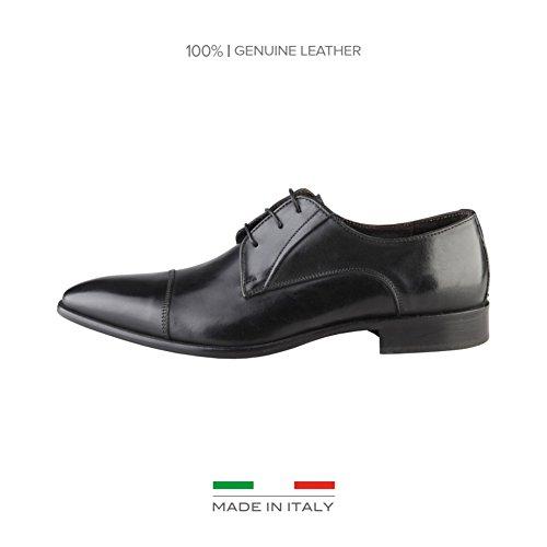 Made In Italia Michelangelo, Scarpe stringate uomo nero Size: EU 45
