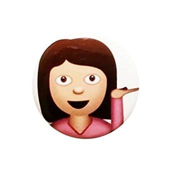 Amazon.com: iPhone Emoji Sassy / Hair Flick / Sarcastic / Hey Girl / 1