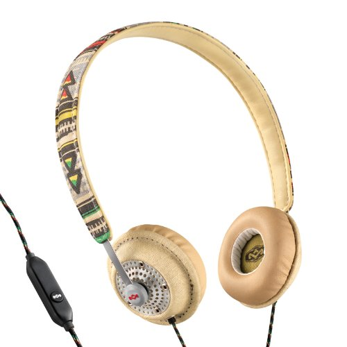 House Of Marley Em-Jh041-Tr Harambe Tribe On-Ear Headphones