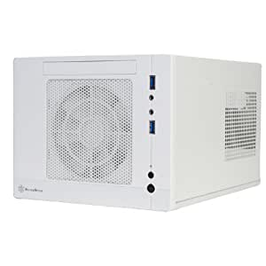 Silver Stone Mini-ITXケース ホワイト SST-SG05W-Lite/B