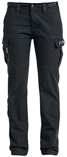 Black Premium by EMP Army Vintage Trousers Pantaloni donna nero W34L34