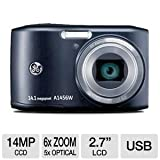 GE Smart A1456W-BK 14 MP with 5 x Optical Zoom Digital Camera, Black Reviews Picture