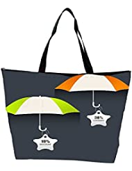 Snoogg Abstract Rainy Season Background Waterproof Bag Made Of High Strength Nylon