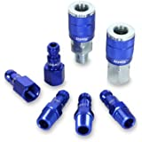 Legacy A72457C ColorConnex  Automotive 7 piece Coupler and Plug Kit Blue Type C