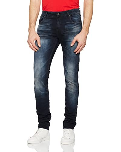 Guess Vaquero Superskinny Denim Oscuro