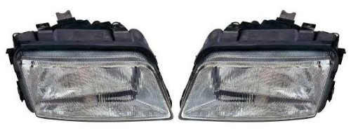 AUDI A4 MK1 1994-1999 HEADLIGHTS / HEADLAMPS EXCLUDING FOG 1 PAIR