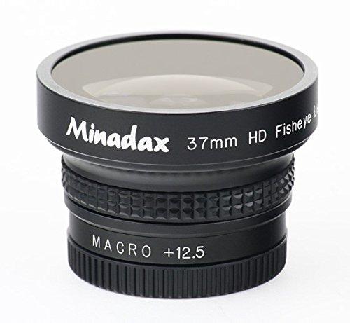 Minadax 0.42x Fisheye vorsatz pour Kodak DX7630
