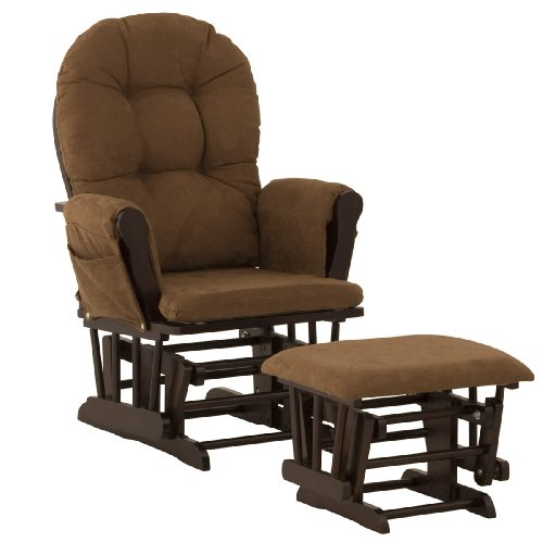 Review Of Stork Craft Hoop Glider and Ottoman, Espresso/Chocolate