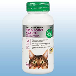 Gnc Ultra Mega Hip & Joint for Cats 60 Capsules