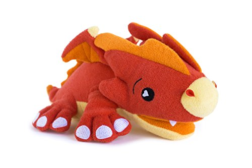 Animal Antimicrobial Terry Cloth Bath Sponge-Scorch the Dragon