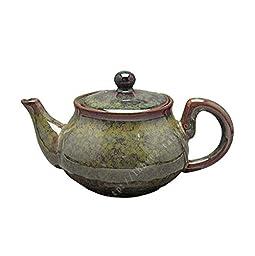 ufengke®Exquisite Jun Kiln Ceramic Porcelain kungfu Teapot-C