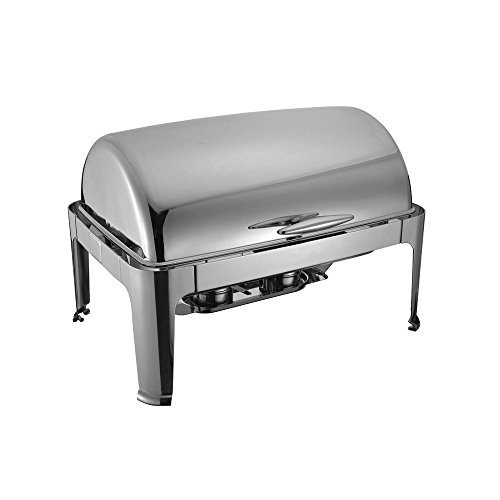 Full Size Stainless Steel Roll Top Chafer Chafing Dish