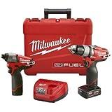 M12 FUEL 2-Tool Combo Kit - Milwaukee 2594-22