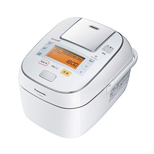 パナソニック Wおどり炊き 可変圧力IHジャー 1.0L 0.5~5.5合 ホワイト SR-PW105-W