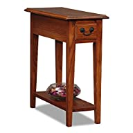 Leick Chair Side End Table, Medium Oa…