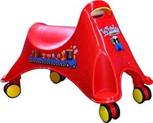 Whirlee - The amazing sit on with 360 degree ride on fun! - Red