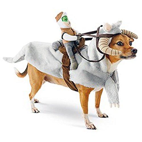 [Luke Skywalker on Tauntaun Dog Costume Size Small] (Star Wars Dog Costumes Tauntaun)