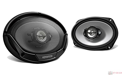 Kenwood KFC-6965S 6×9 Inches 3-way 400W Speakers