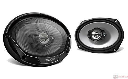 Kenwood KFC-6965S 6×9 Inches 3-way 400W Speakers