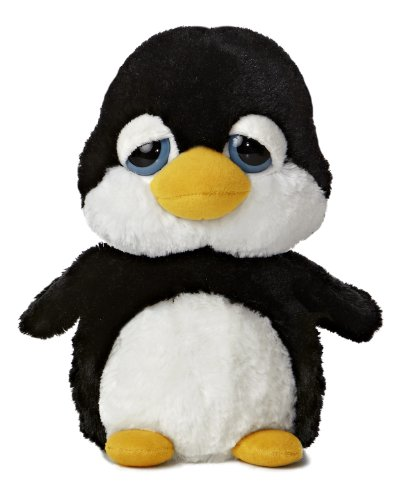 Aurora World Dreamy Eyes Paddles Penguin Plush, 9""