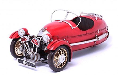 Model Sports Car Morgan Three-Wheeler 1930 - Retro Tin Model
