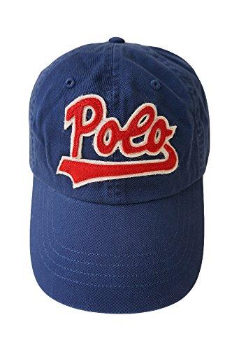 (ポロ ラルフローレン)POLO Ralph Lauren ロゴ入り ベースボール キャップ メンズ&レディース ポニーマーク [並行輸入品] ネイビー -