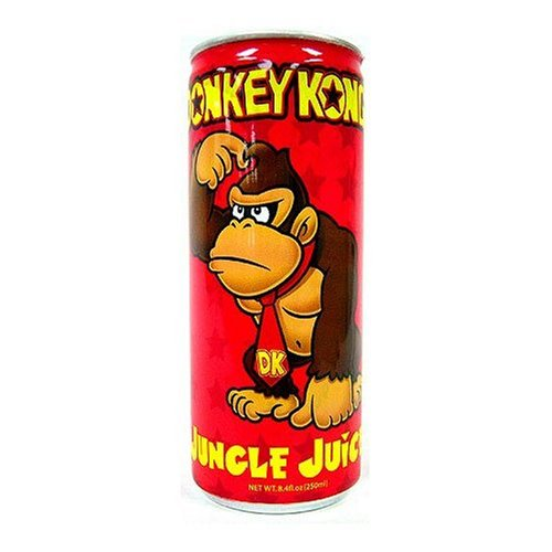 Nintendo Donkey Kong Jungle Juice Energy Drink 8.4 Oz