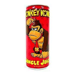 Nintendo Donkey Kong Jungle Juice Energy Drink 8.4 Oz
