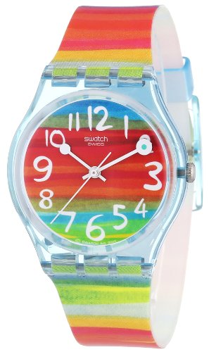 Swatch Ladies Color The Sky Multicolour Dial Watch