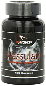 AI Sports Nutrition Massularia Capsules, 120 Count