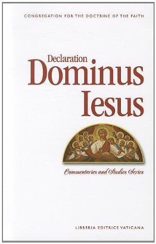 Image result for Photos of book Dominus Iesus