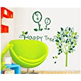 Decals Arts Happy Tree Wall Sticker For Home Kids Room Décor
