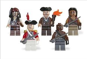LEGO Pirates of the Caribbean: Battle Pack: Jack Sparrow, Scrum, Lieutenant Theodore Grove, 2 Zombie Pirates
