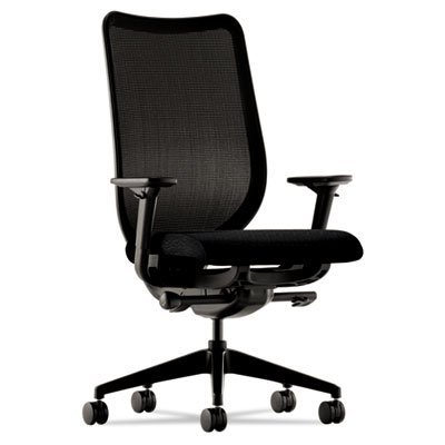 Hon Work Chair, 28-3/4 by 25-3/4 by 42-3/4-Inch, Black