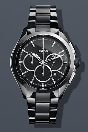Rado Hyperchrome XXL Automatic Chronograph Black Ceramic Mens Watch R32275152
