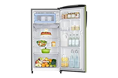 Samsung RR19J2784NT Direct-cool Single-door Refrigerator (192 Ltrs, 4 Star Rating, Emerald Green)