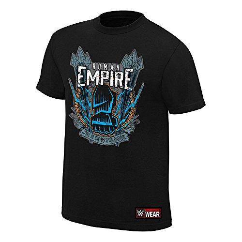 """Roman Reigns """"Nessuno di ricambio, Spear tutti Authentic Maglietta Black S"""
