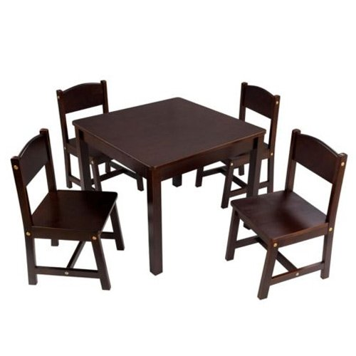 Farmhouse Table and 4 Chair Set