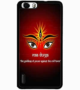 ColourCraft Maa Durga Design Back Case Cover for HUAWEI HONOR 6 PLUS