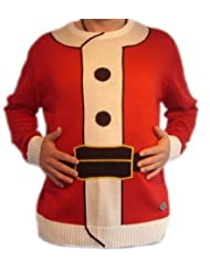 Ugly Christmas Sweater Santa Outfit