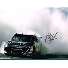 Autographed Matt Kenseth Photo - BURNOUT 11X14 COA - Autographed NASCAR Photos by Sports Memorabilia