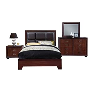 Bedroom Furniture Packages Eskada 6 Pc Queen Bedroom Package