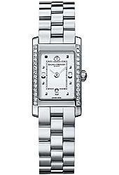 Baume & Mercier Women's 8407 Hampton Diamond Swiss Watch