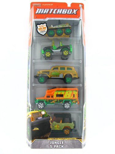 Matchbox Jungle 5-pack - 1
